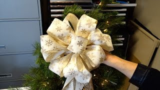 Download Christmas Tree Decoration or Present Bow Video