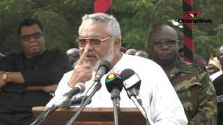 Download Full speech: Rawlings speaks at the 35th Revolutionary Anniversary Video