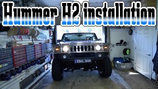 Download The Hummer H2 make over car stereo installation Video