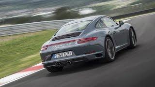 Download 2016 Porsche 911 Carrera 4 Graphite Blue Metallic Design and Drive Video