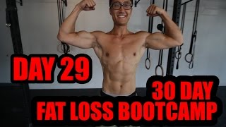 Download Day 29 Bootcamp(Mon) 30 Day At Home Fat Burning Bootcamp Video