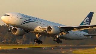 Download STUNNING Sunset Takeoffs & Landings | Melbourne Airport Plane Spotting Video