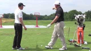 Download Jonas Blixt does an awesome trick shot at the John Deere Youth Clinic. Video