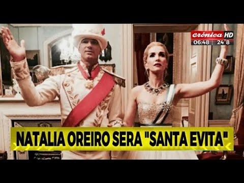 Natalia Oreiro se pondrá en la piel de Evita