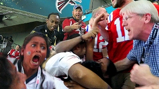 Download FIGHT BREAKS OUT AT SUPER BOWL 51!! Video