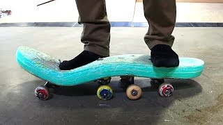 Download ATTEMPTING TO SKATE A FOAM POOL TOY | SKATE EVERYTHING EP 52 Video