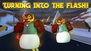 Download TURNING INTO THE FLASH! (ROBLOX Jailbreak) Video