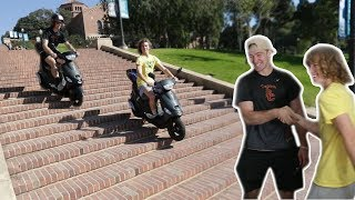 Download Surprising My Friend With A New Scooter! Video