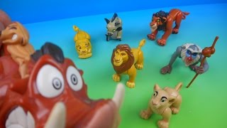 Download 1994 WALT DISNEY'S THE LION KING SET OF 7 BURGER KING KID'S MEAL MOVIE TOY'S VIDEO REVIEW Video