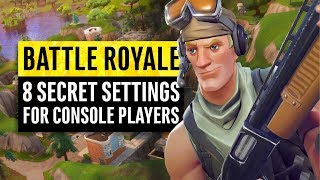 Download Fortnite Battle Royale | 8 Secrets and Settings for Console Players (PS4 & Xbox One) Video