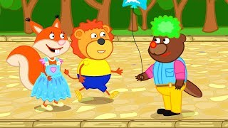 Download Lion Family How to spend your Vacation Cartoon for Kids Video