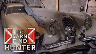 Download Two Jaguar XKs a quarter-mile from one another | Barn Find Hunter - Ep. 66 Video