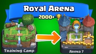 Download Clash Royale - How To Get To Arena 7! Epic FAST Strategy For Beginners & Experts! Tips Royal Arena! Video