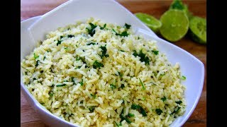 Download Incredible Cilantro Lime Rice #MeatFreeMonday | CaribbeanPot Video
