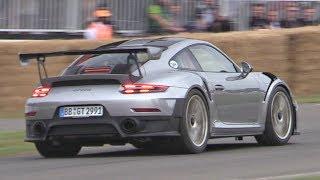 Download 2018 Porsche 991 GT2 RS Exhaust SOUND! - Huge Revs, Launches & Accelerations! Video