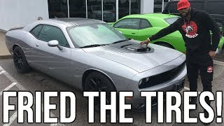 Download Dodge Challenger R/T Shaker Review!! And I Taught ″Mr Organik″ How To Do A Burnout!! Video