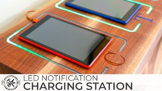 Download Smart DIY Charging Station with LED Notifications | How to Build Video
