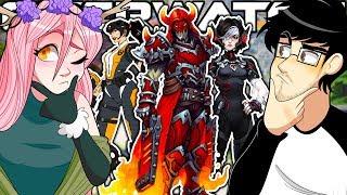 Download OVERWATCH BOYFRIEND VS GIRLFRIEND GUESS THE SKIN CONTEST!! Video