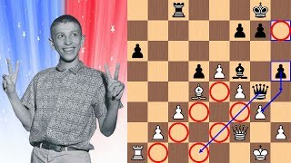 Download 14-year-old Bobby Fischer vs Dr. Max Euwe | The ″Unpublished″ Game | 1957 Video