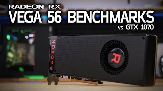 Download VEGA 56 vs GTX 1070 Review with Overclocking & Benchmarks! Video