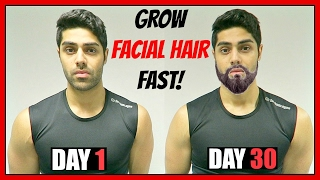 Download How To Grow Facial Hair FASTER - GROW A BEARD NATURALLY! Video