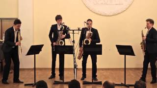 Download Russian Sax Quartet — A. Piazzolla, Histoire du Tango: Cafe 1930 and Concert d'Aujourd'hui Video
