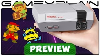 Download NES Classic Edition - Hands-On Preview (UI Revealed, Options, & More!) Video