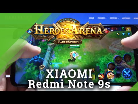 Let's Play Heroes Arena on Xiaomi Redmi Note 9s – Gaming Quality Checkup