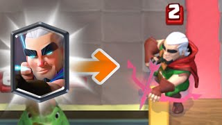 Download Clash Royale | MAGIC ARCHER REAL GAMEPLAY HD Video