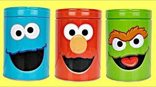 Download Sesame Street Coin Bank Toy Surprises with ELMO, OSCAR & COOKIE Monster Video
