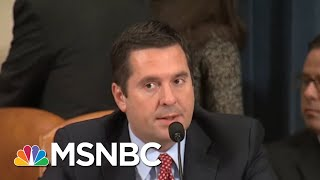 Download Nunes On Secret Tape: Brett Kavanaugh Vote, Then Rod Rosenstein Impeachment | Rachel Maddow | MSNBC Video