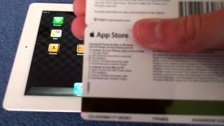 Download How to Put an App Store / iTunes Gift Card on Your Device : iPad / iPhone / iPod Touch Video
