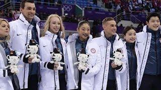 Download US figure skaters steal the show at Winter Olympics Video