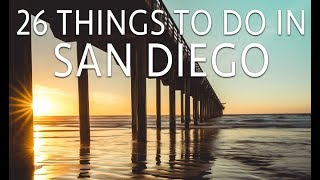 Download 26 Things to Do in San Diego Video