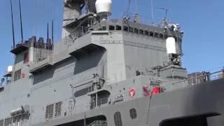 Download M160723 海上自衛隊 輸送艦『くにさき』 大阪港一般公開 Video