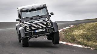 Download Mercedes-Benz G500 4x4² - test GARÁŽ.cz - Jízda za svobodou Video