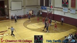 Download Men's Basketball - Chestnut Hill College vs Holy Family University - (1/17/2017) Video