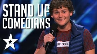 Download Funniest Ever Stand Up Comedians On Got Talent Video