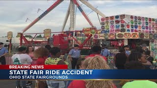 Download Witness describes seeing ride collapse Video