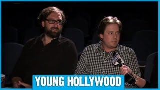 Download Tim & Eric Give Most Awkward Interview Ever at BILLION DOLLAR Screening Video
