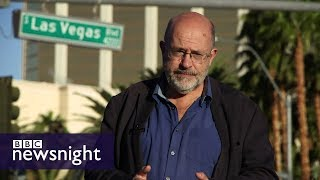 Download Las Vegas: Deserted in the aftermath of the shooting - BBC Newsnight Video