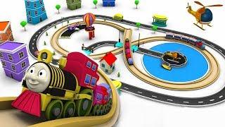 Download Train for children - cartoon for kids - train cartoon - choo choo train - Toy Factory cartoon Video
