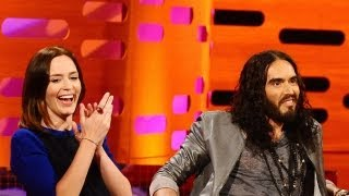 Download EMILY BLUNT & RUSSELL BRAND: Breaking Up a Dolphin Marriage (The Graham Norton Show) Video