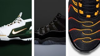 Download JORDAN 11 ″Blackout″, LeBron ZOOM Generation ″SVSM″, Hybrid NIKE Sneakers and More on Heat Check Video