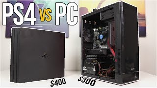 Download $300 Gaming PC vs PS4 PRO! - The Ultimate Showdown - VOLT PT. 3 Video