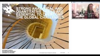 Download Webinar: Study Economics at the University of Helsinki, Finland! Video