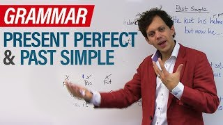 Download Learn English Tenses: PRESENT PERFECT and PAST SIMPLE Video