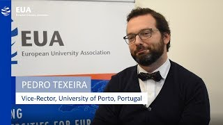 Download EUA Learning & Teaching Initiative - Pedro Teixeira, University of Porto, Portugal Video