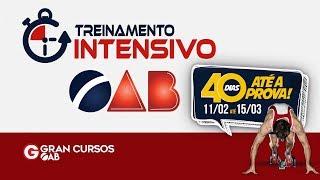 Download Treinamento Intensivo OAB XXVIII - 40 DIAS ATÉ A PROVA| Processo Civil com Raquel Bueno Video