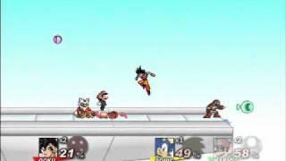 Download Goku vs Naruto vs Mario vs Sonic - SSF2 Video